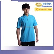 Camisa de trabalho uniforme camisa pólo para o trabalhador