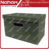 NAHAM HQ Home Grey Felt Square storage box Alibaba