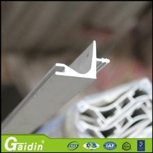 China supplier aluminum floor supplier wardrobe cabinet bathroom drawer door pull edge handle