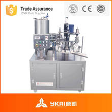 Automatic Sealant filling and capping machine,plastic tube filler,automatic silicon packing machine