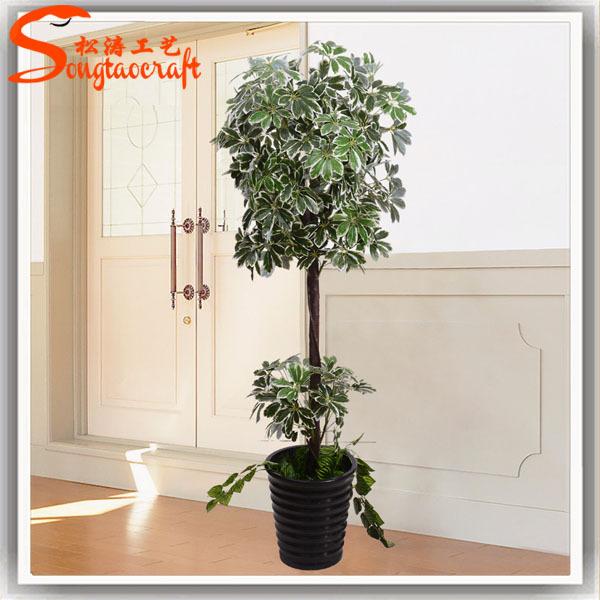la chine la fabrication de plantes artificielles arbre d 39 argent artificielle jardin des pots en. Black Bedroom Furniture Sets. Home Design Ideas