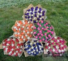 Venta al por mayor de flores secas ramo flor de la simulación linterna Yunnan flores secas de la flor boda del regalo navidad