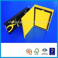 Cell phone case paper cardboard box chalk packaging box for hair extension