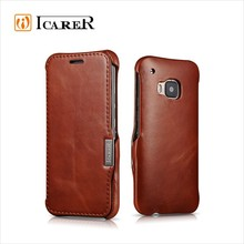 ICARER Luxury Leather Case For HTC ONE 2 M9