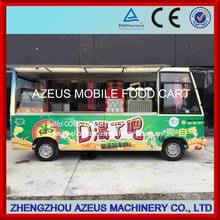 Colourful mobile food truck for sale