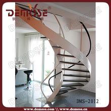 steel-wood staircase | prefab stairs