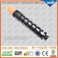 compatible or universal toner cartridge npg 51 for canon copier machine IR 2535 2545 2520 2525 2530