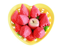 Reusable Foldable Strawberry bag Several Colors Shopping Folding Bag