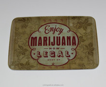 New product beautiful design melamine rectangle tray