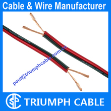 10 Gauge AWG Speaker Cable Car Home Audio Red & Black Zip flat ribbon speaker cable wire