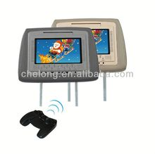 7 inch headrest entertainment dvd player 7\\ car headrest monitor