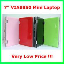via8850 mini laptop 7 inch