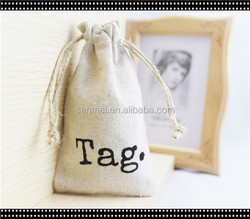 Factory Price Wholesale Fashion Style New Small Cotton Drawstring Bag