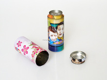 Pretty Dia.64*167mm H small gift box for packing with drink shape