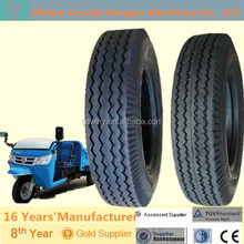 Best Chinese brand Three-wheel truck tire with Zigzag lines