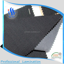 100D Slub 4 way stretch fabric bonded TPU bonded fleece