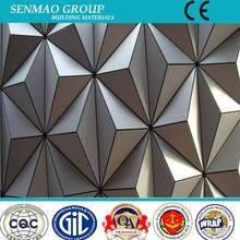 Revestimento da parede externa Material / painel composto de alumínio / ACP / preço de fábrica