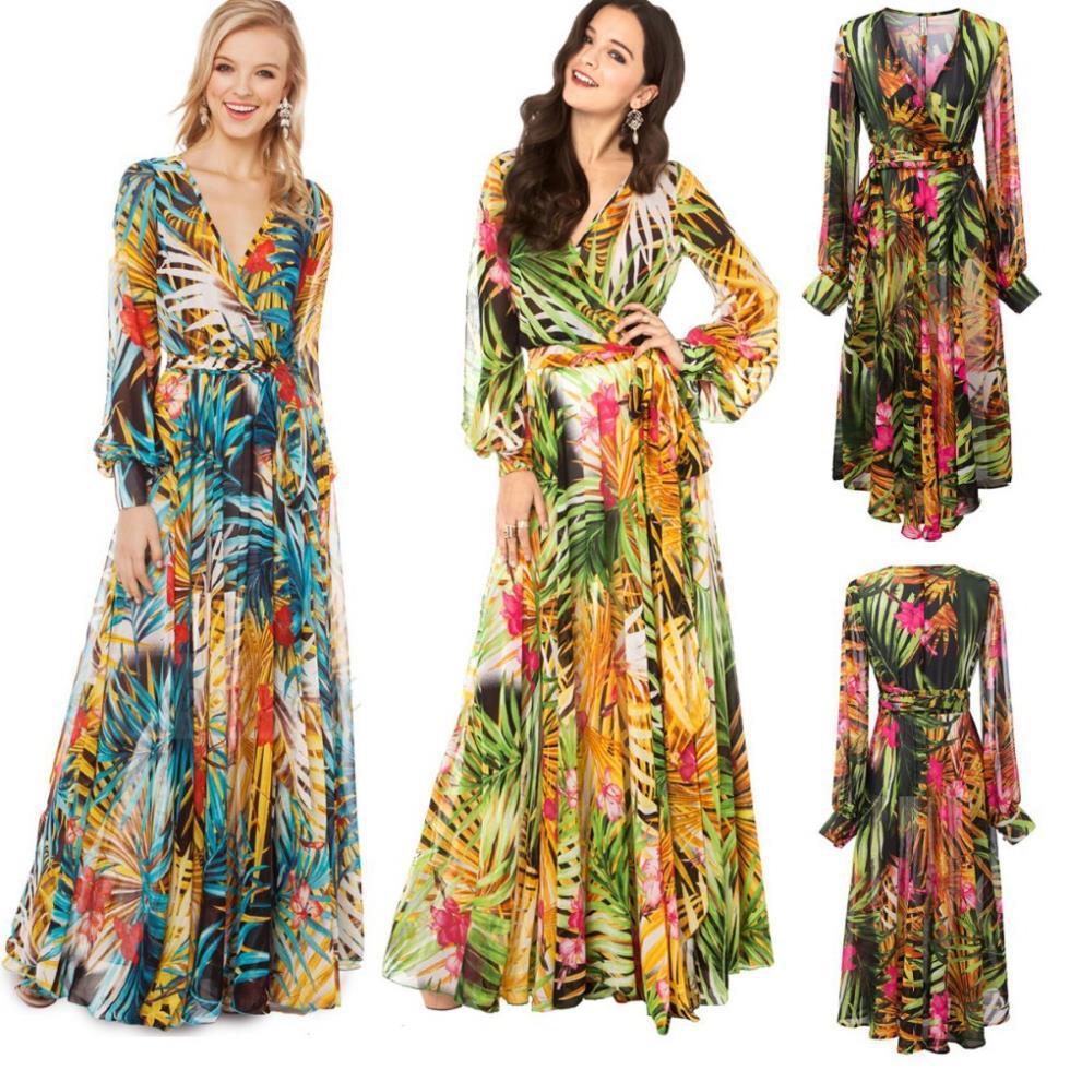 long sleeve summer maxi dresses | Gommap Blog