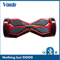 Colorful LED Light balance scooter drifting board 8inch 2 wheel electric motor scooters for adults
