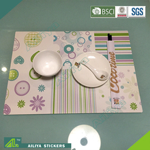 cartoon laser 3D eco-friendly OEM factory customized placemats uk