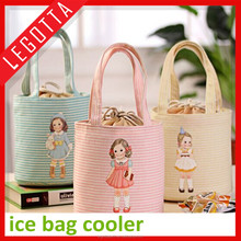 Wholesale high quality cheap lovely beauty lunch bag for office ladies