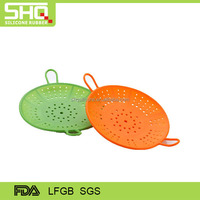 round hollow silicone microwave cover mold