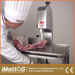 220V iMettos Durable stainless steel beef splitting saw 1100W
