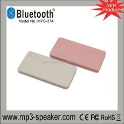 MPS-374 12mm thickness wireless mini bluetooth speaker made in China