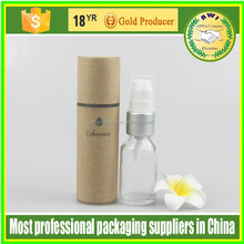 Best quality paper material soap packaging box tube paper tube paper container