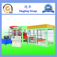 Professional china supplier QT8-15 hydraulic adobe block making machine for sale