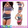 2015 new fashion high waist strap halter perfect girls bikini