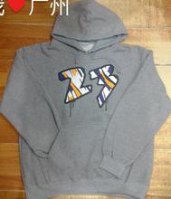 basketball no. 23 sports mens fleece hoody sweatshirt