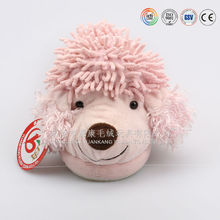 Animal style lovely dog toy adult plush indoor slipper