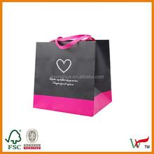 retail paper shopping bag custom printed paper bag