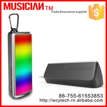 Newest Portable Mini Speaker F10 support TF Card/MP3/Phone LED Bluetooth Speaker with led Light