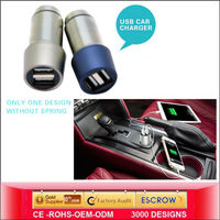 Phone car charger Sustyle SU-C2 Fashion multiple mobile phone car charger