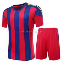 Custom Hot sale cheap soccer uniform wholesale