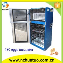 Holding 480 eggs automatic motorcycle sidecar for sale small egg incubator CE proved