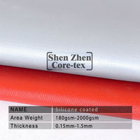thermal heat protection silicon fireproof curtain