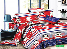 printed branded bedding set 2014 newest Development plant cashmere fabric