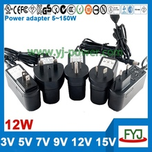 5.5v 5v ac dc adapter for android tablet pc with us eu uk au plug