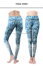 Innovative design active elastic yoga pants