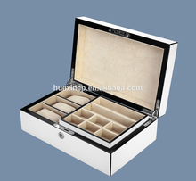 2015 Guangzhou Supplier Wooden Jewelry Box, Wooden Box with Departments , Divider Wood Box for Jewelry