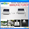 home appliances zhongshan sensor motion solar garden light gutter fence led wall bracket