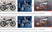 4 stroke petrol Bike/NTNKIT 2 cycle kit/moped bike