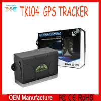 Manufactory directly !1Latest Live Real Time sos service long life battery gps tracker TK 104