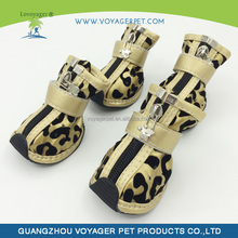 Lovoyager Fashionable rubber rain boots with dog print for outdoor