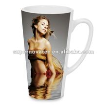 17oz Latte Sublimation Coffee Mug