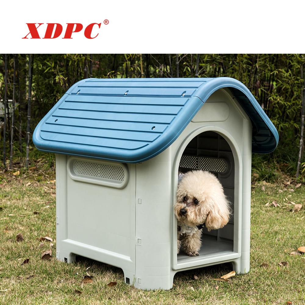 Venta directa de fábrica baratos polipropileno plástico perreras casa Cama animal lindo juguete jaula