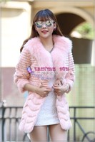 2015 Fashion Quality Fur Coats,shearing fur coat ,rabbit fur coat.